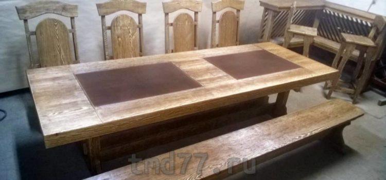 Мебель из массива дерева для кухни, гостиной