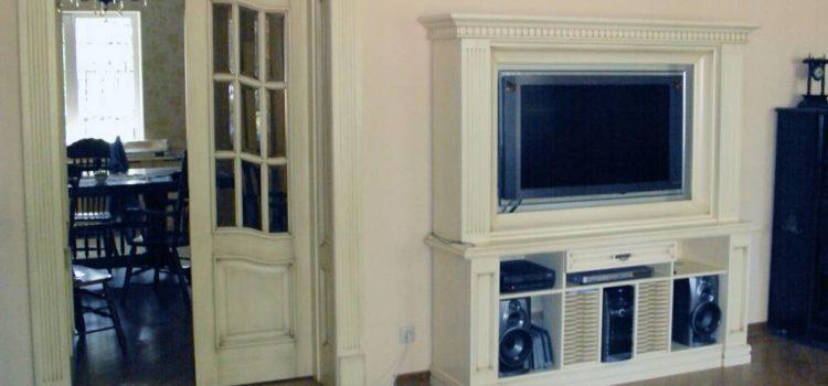 Резная мебель из массива термодревесины
